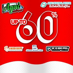Diskon Kaca Film Up to 60%