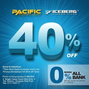 promo kaca film iceberg - palembang